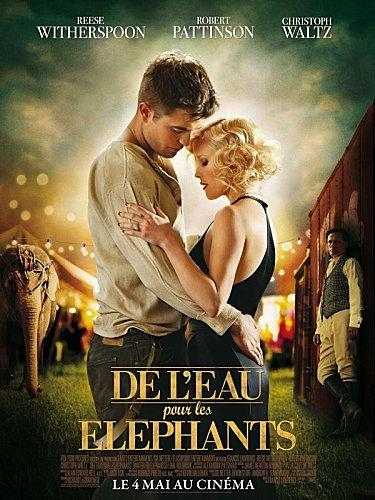 jean dorval pour ltc kinéma,kinéma,cinéma,de l'eau pour les éléphants,le film,francis lawrence,réalisateur,une grande fresque historique,romantique,centre pompidou-metz,metz,moselle,lorraine,robert pattinson,twilight,resse witherspoon,christoph waltz,l'éléphante rosie
