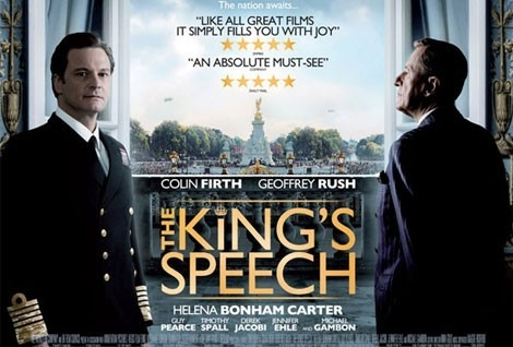 colin firth,guy pearce,helena bonham carter,geoffrey rush,la reine elisabeth,lionel logue,l'association parole bégaiement (apb),600 000 personnes bègues en france,le film de tom hooper,« le discours d'un roi » (titre original « the'king's speech »),le roi george « bertie » vi,vive le roi,lutter contre le handicap,jean dorval pour ltc kinéma