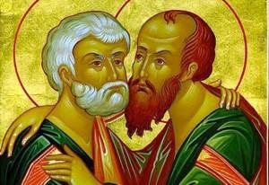 Le 29 juin, c'est la Solennité des Saints Pierre et Paul,