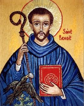 Le 11 juillet, c'est la Saint Benoît, Patron de l'Europe,