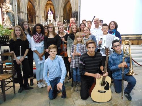 Cathédrale de Metz : Veillée-concert pour le père de l'Europe,