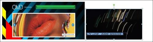 LTC LIVE DARK SESSION REçOIT OMD,