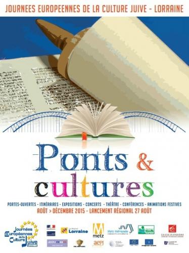 Les Journées Européennes de la Culture Juive,Lorraine 2015,