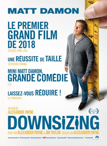downsizing le film,alexandre payne,mat damon,kristen wiig,hong chau,science-fiction,écologie,