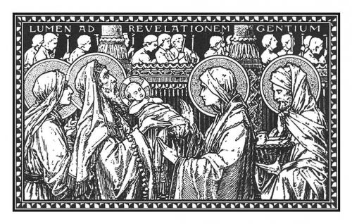 la chandeleur,la présentation de jésus au temple,