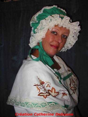 Catherine Debusne,une vie consacrée au costume traditionnel,