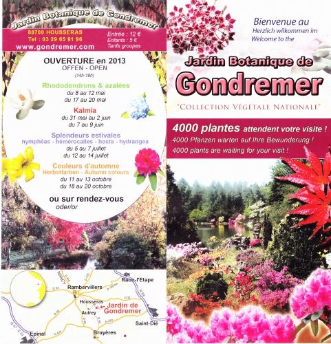 jardin botanique de gondremer,gondremer,vosges,lorraine,4.000 plantes attendent votre visite,collection végétale nationale,housseras,88700,épinal,siant-dié,rambervillers,
