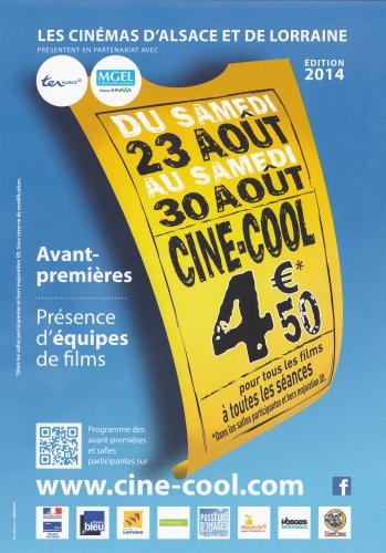 """ciné-cool 2014,du samedi 23 août au samedi 30 août 2014,4,50€,pour tous les films,à toutes les séances,dans les salles participants,et hors majoration3d,le film franco-belge,à voir en vost (anglais),""""une promesse"""",réalisé par patrice leconte,l'ouvrage de stefan zweig """"le voyage dans le passé"""" (paru aux ed,paris),rebecca hall,richard madden,alan rickman,romantisme,jean dorval our ltc kinéma,ltc kinéma,the best offer,le film,la migliore offerta,giuseppe tornatore,le réalisateur et scénariste,geoffrey rush,sylvia hoeks,jim sturgess,donald sutherland,olomon northup : un homme (libre) rendu esclave pendant 12 ans,vost,12 years slave,de steve mcqueen ii,avec,chiwetel ejiofor,michael fassbender,brad pitt,lupita nyong'o,un film contre l'esclavage,le devoir de mémoire,pour la cause noire,nymphomaniac volume 1,rammstein,de lars von trier,actuellement sur nos écrans,""""nymphomaniac (part i)"""",ou comment atteindre le point joe,lars von trier,charlotte gainsbourg,stacy martin"""