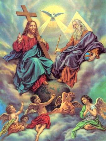 A propos de la très Sainte-Trinité,