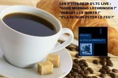 """les p'tits-déjs d'ltc live,palma violets,best of friends,99 red ballons,nena,joe jackson,the joe jackson band,acdc,a-ha,la scène d'ltc live,la communauté ltc live,ltc live : """"la voix du graoully !"""",david bowie,the next day,nouvel album 2013,jean dorval,jean dorval pour ltc live,centre pompidou-metz,metz,moselle,lorraine,ue,union européenne,europe,yom,& the wonder rabbis,klezmer zozio'party,jewish'mix,musique klezmer,peuple juif,les hébreux,orient,moyen-orient,claude vanony,les parisiens,la bête des vosges,que je t'aime,johnny halliday,les tops du zozio,le """"2songs2"""" d'ltc live,chris botti,billy kilson,drums,sting & j. groban,shape of my heart,elvis costello,she,chanson française,charlotte sometimes,logo solo d'ltc live"""