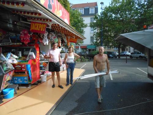 Metz - Sablon : La fête patronale débarque place Saint-Livier,