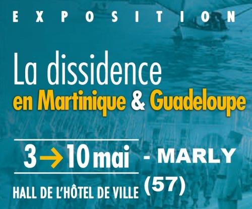 commémoration du 08 mai 1945,hommage à la dissidence antillaise,exposition,marly,57,moselle,exposition la dissidence en martinique,et en guadeloupe 1940-1945